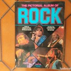 Catálogos de Música: THE PICTORIAL ALBUM OF ROCK.. Lote 180127365