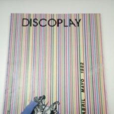 Cataloghi di Musica: DISCOPLAY CATÁLOGO ABRIL - MAYO 1982. Lote 180499825