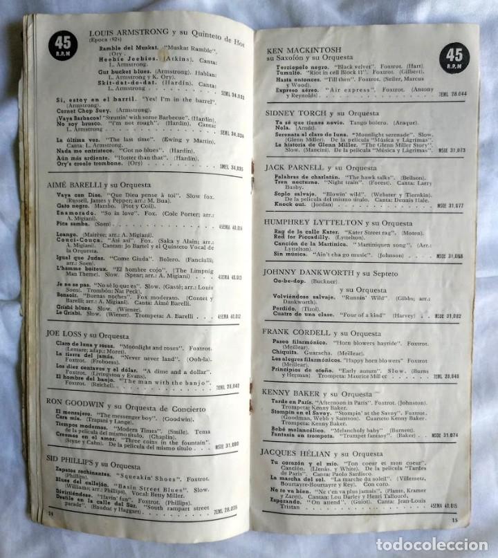 Catálogos de Música: Catálogo Nuevos Discos Odeon, Pathé, MGM, Regal, La voz de su amo. - Foto 3 - 181198707