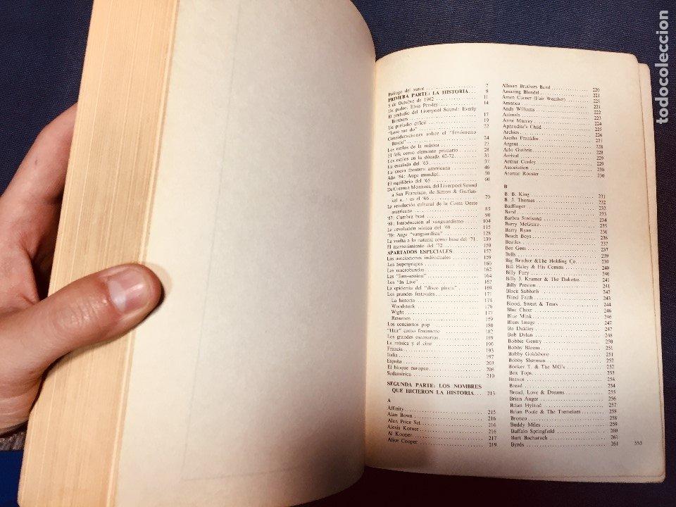 Catálogos de Música: historia de la música pop de los beatles a hoy 1962/72 primera edición 1972 barcelona - Foto 9 - 181588718