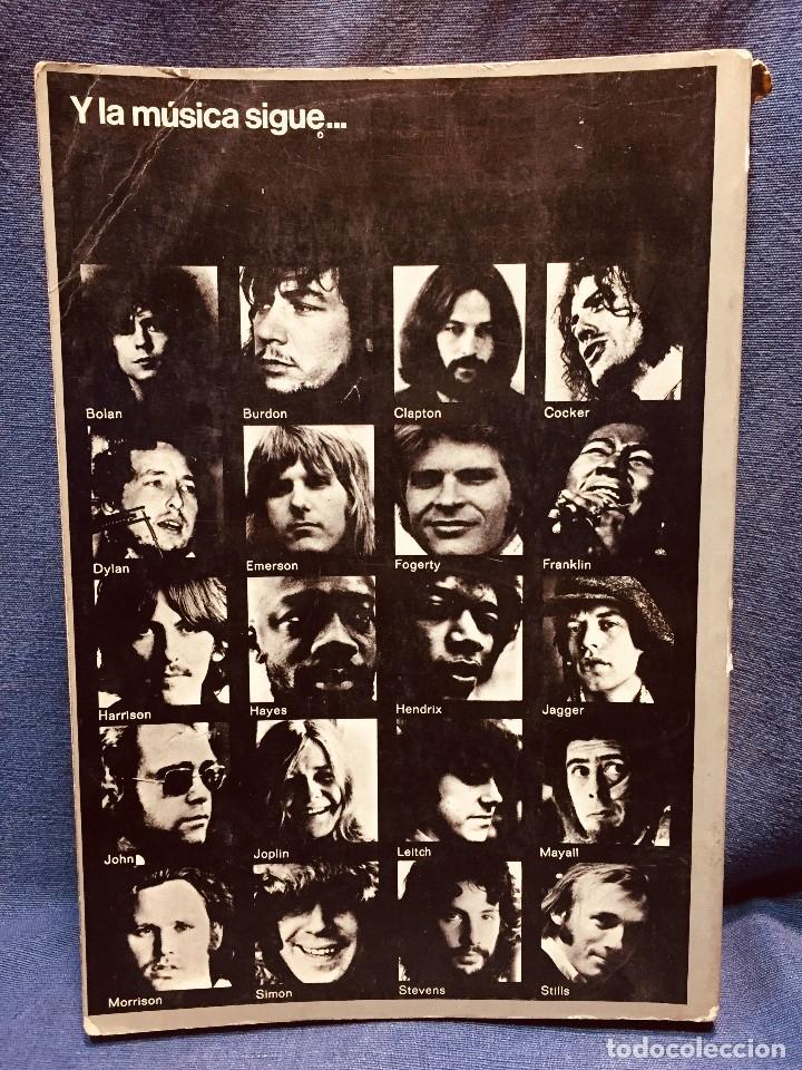 Catálogos de Música: historia de la música pop de los beatles a hoy 1962/72 primera edición 1972 barcelona - Foto 2 - 181588718