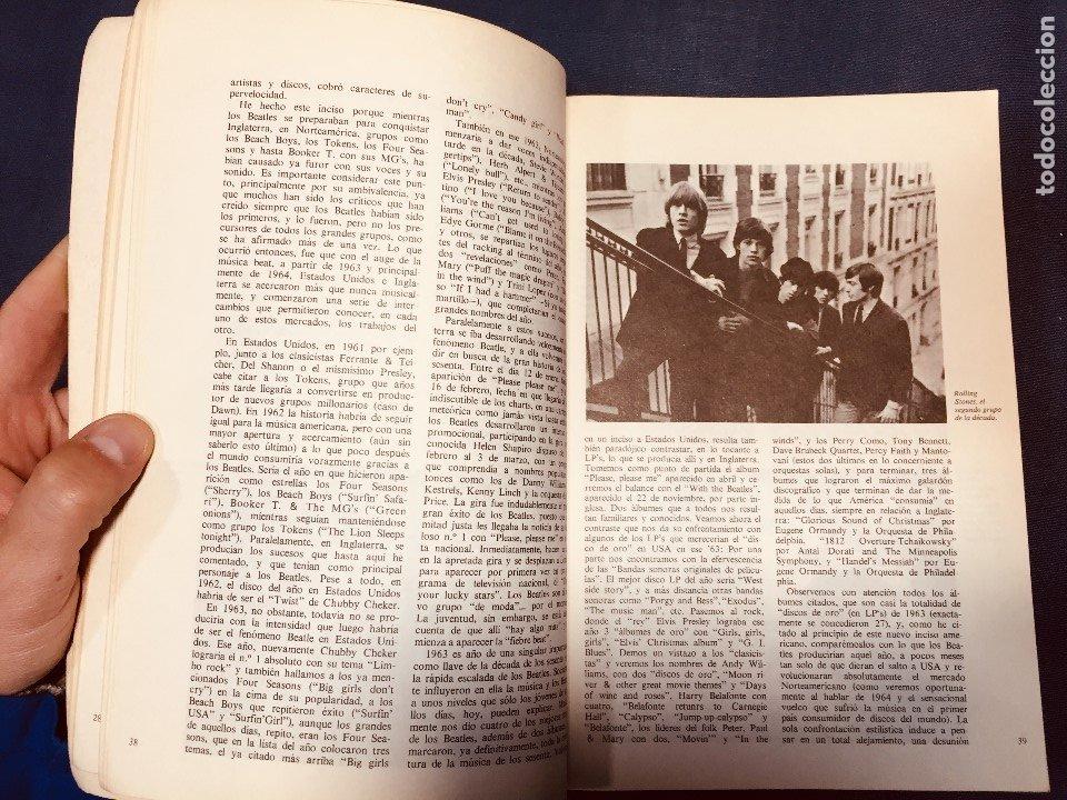 Catálogos de Música: historia de la música pop de los beatles a hoy 1962/72 primera edición 1972 barcelona - Foto 4 - 181588718