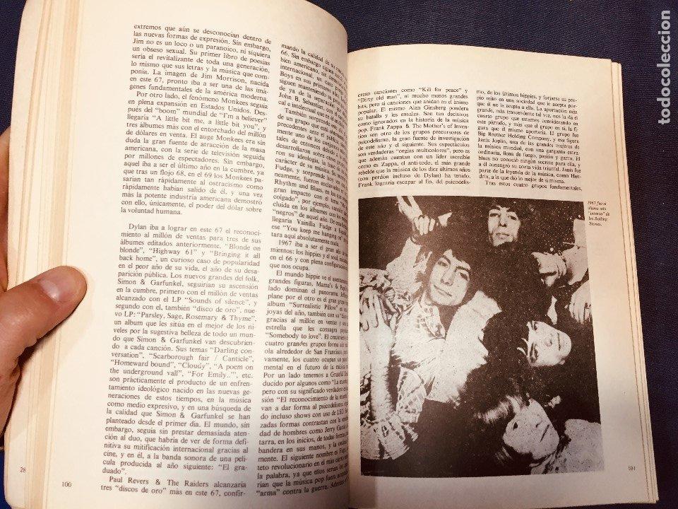 Catálogos de Música: historia de la música pop de los beatles a hoy 1962/72 primera edición 1972 barcelona - Foto 5 - 181588718