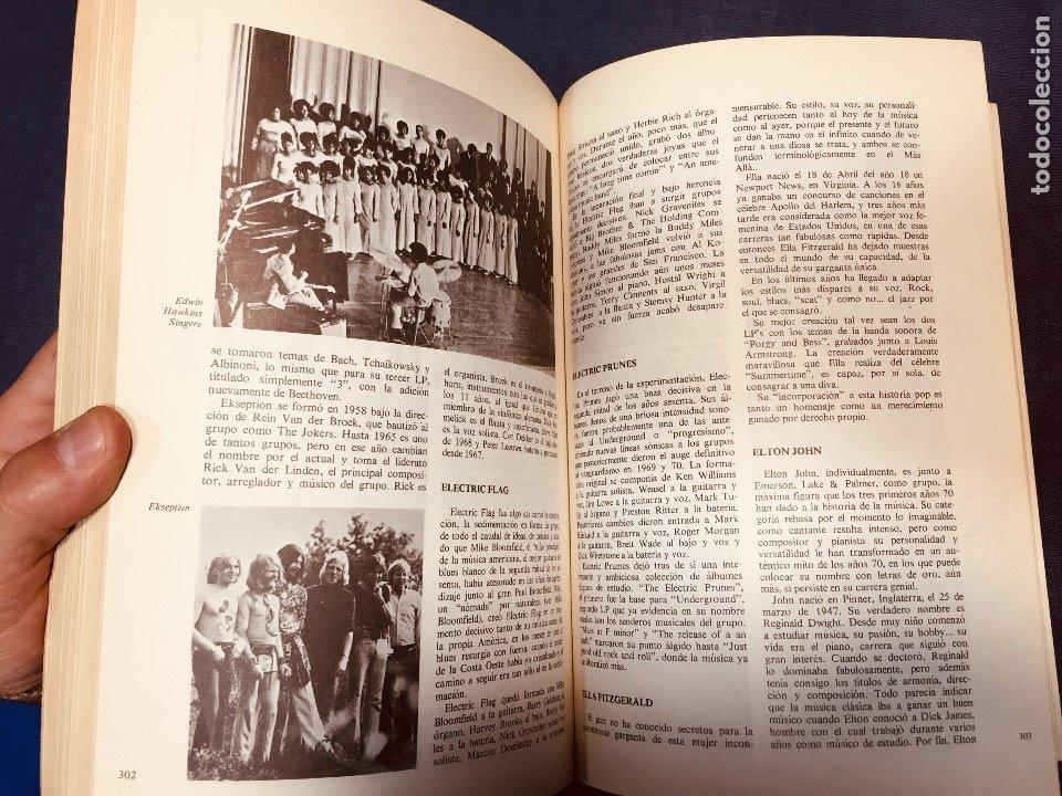 Catálogos de Música: historia de la música pop de los beatles a hoy 1962/72 primera edición 1972 barcelona - Foto 7 - 181588718
