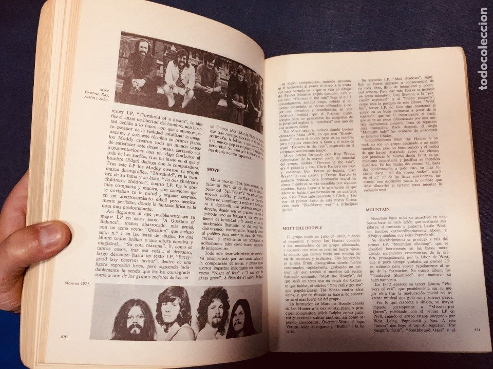 Catálogos de Música: historia de la música pop de los beatles a hoy 1962/72 primera edición 1972 barcelona - Foto 8 - 181588718