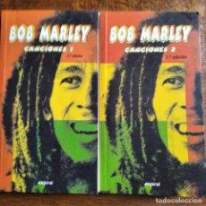 Catálogos de Música: BOB MARLEY AND THE WAILERS - CANCIONES LIBRO 1 Y 2 -. Lote 182142586