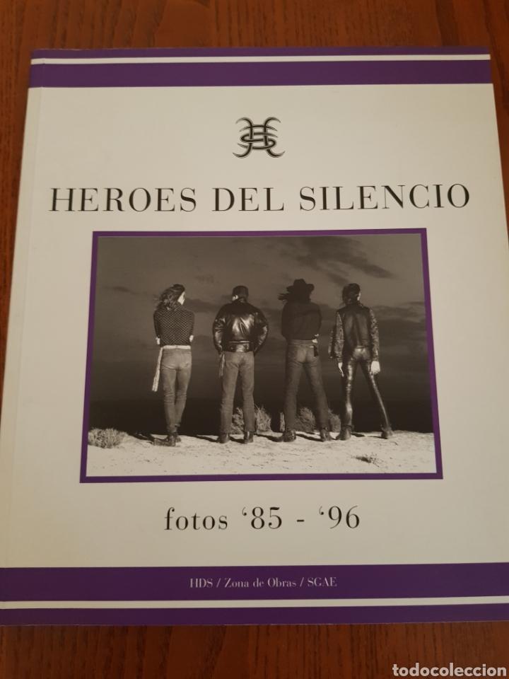LIBRO HÉROES DEL SILENCIO. FOTOS 85- 96 (Música - Catálogos de Música, Libros y Cancioneros)
