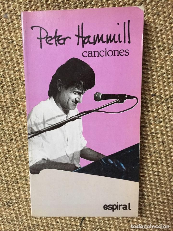 PETER HAMMILL CANCIONES (Música - Catálogos de Música, Libros y Cancioneros)