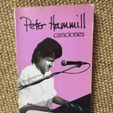 Catálogos de Música: PETER HAMMILL CANCIONES. Lote 183475906