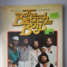 Catálogos de Música: THE BEACH BOYS AUTHORIZED BIOGRAPHY .BYRON PREISS.FABULOUSLY ILLUSTRATED!(1979 1A EDICIÓN AMERICANA). Lote 183492482