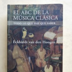 Catálogos de Música: EL ABC DE LA MÚSICA CLÁSICA. Lote 183655476