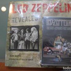 Catálogos de Música: LED ZEPPELIN REVEALED JASON DRAPER INCLUYE DVD THE SONG REMAINS THE SAME PRECINTADO. Lote 184866470