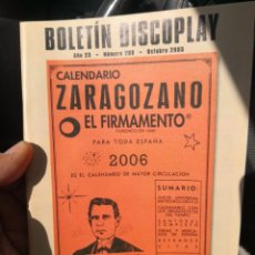 Catálogos de Música: REVISTA CATALOGO BOLETIN DISCOPLAY Nº 260 (OCTUBRE 2005). Lote 186056942