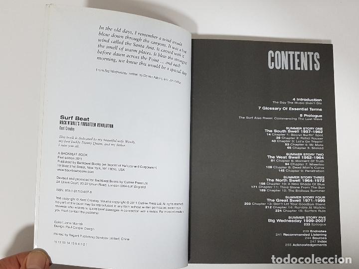 Catálogos de Música: Surf Beat: Rock n Rolls Forgotten Revolution / Kent Crowley (historia de la música surf) - Foto 3 - 249096615