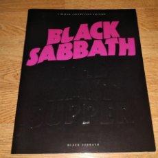 Catálogos de Música: BLACK SABBATH RARE THE LAST..TOURBOOK 1989-DEEP PURPLE-OZZY OSBOURNE-IRON MAIDEN-LED ZEPPELIN. Lote 190101546