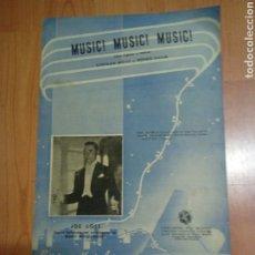 Catálogos de Música: PARTITURA MÚSICA - DIPTICA - MUSIC MUSIC MUSIC - STEPHAN WEISS Y BERNIE BAUM EDICIONES BERNARD HILL. Lote 191799331