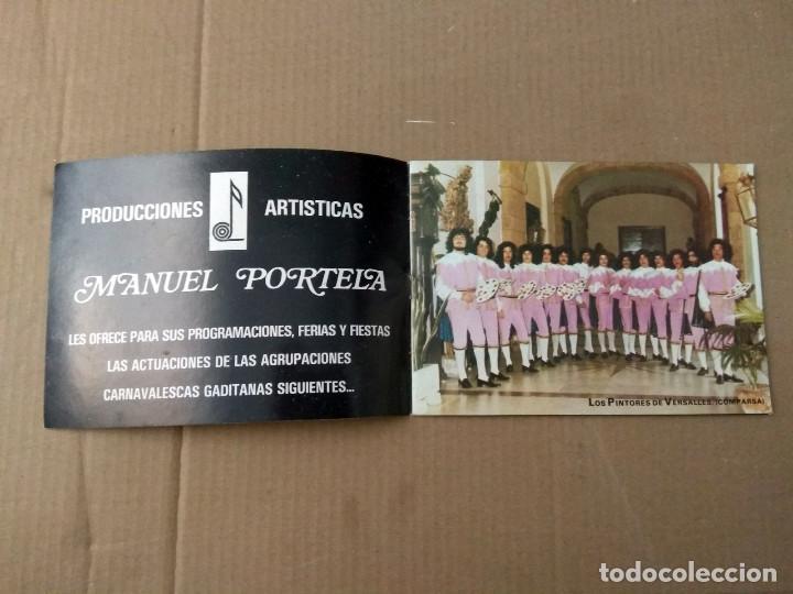 Catálogos de Música: CADIZ CANTA CARNAVAL 1981 LIBRETO CON FOTOS DE AGRUPACIONES - Foto 2 - 192078252