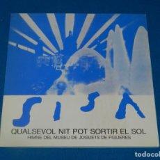 Catálogos de Música: (M) JAUME SISA 1948 - 1984 QUALSEVOL NIT POT SORTIR EL SOL, MUSEU DE JOGUETS FIGUERES 8 . Lote 192356961