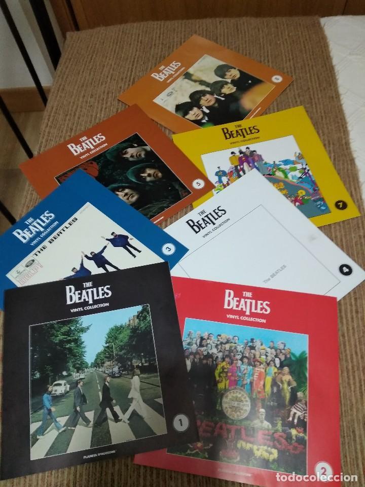 THE BEATLES VINIL COLLECTION / LIBRILLOS 1-2-3-4-5-7-8 (Música - Catálogos de Música, Libros y Cancioneros)