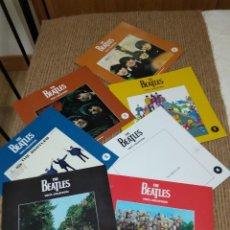 Catálogos de Música: THE BEATLES VINIL COLLECTION / LIBRILLOS 1-2-3-4-5-7-8. Lote 193323635