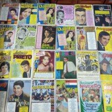 Catálogos de Música: LOTE DE 29 CANCIONEROS EDICIONES BISTAGNE.. Lote 193770192