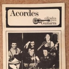 Catálogos de Música: WINGS - PAUL MCCARTNEY - ACORDES CIFRADOS PARA GUITARRA. Lote 193971288