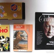 Catálogos de Música: PETE TOWNSHEND: SU NOVELA, CUELLO DE CABALLO, REPRODUCCIÓN DE SU GUITARRA + LIBRO THE WHO. Lote 194094636