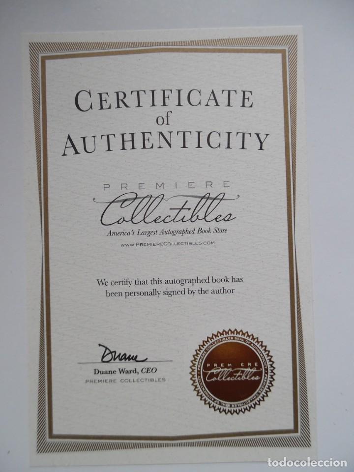 Catálogos de Música: Roger Daltrey. Firmado a mano y numerado. Certificado. My Story. Thanks a lot ...En estuche. The Who - Foto 3 - 194100922