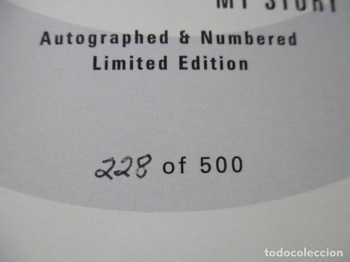 Catálogos de Música: Roger Daltrey. Firmado a mano y numerado. Certificado. My Story. Thanks a lot ...En estuche. The Who - Foto 4 - 194100922