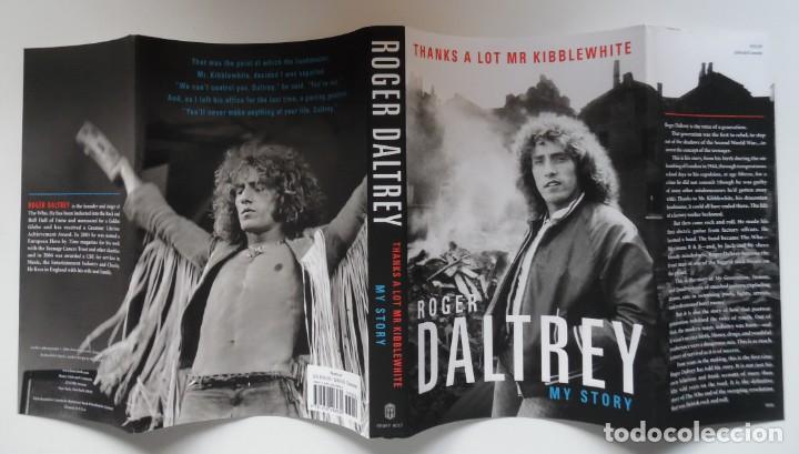 Catálogos de Música: Roger Daltrey. Firmado a mano y numerado. Certificado. My Story. Thanks a lot ...En estuche. The Who - Foto 7 - 194100922