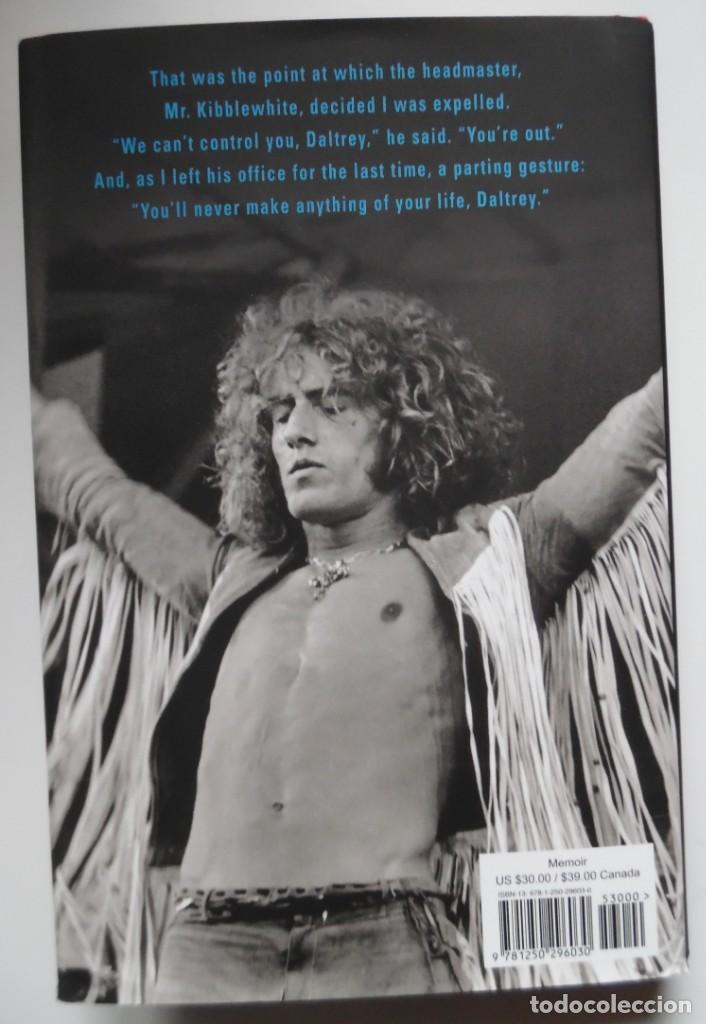 Catálogos de Música: Roger Daltrey. Firmado a mano y numerado. Certificado. My Story. Thanks a lot ...En estuche. The Who - Foto 8 - 194100922