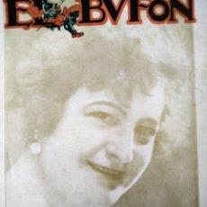 Catálogos de Música: EL BUFÓN REVISTA DE PARTITURAS MUSICALES N 3 AÑO 1 1924 MARIA JAUREGUIZAR. Lote 194400040