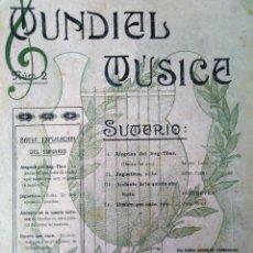 Catálogos de Música: MUNDIAL MÚSICA N 2 1916 ALEGRIAS. Lote 194400818
