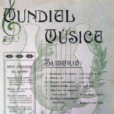 Catálogos de Música: MUNDIAL MUSICA N 1 DURMIENDO LA MUÑECA. Lote 194401848
