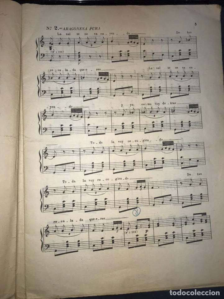 Catálogos de Música: Recopilación Lapuente-Sola. Cancionero de Alvira.. JOTA ARAGONESA. - Foto 5 - 194501966