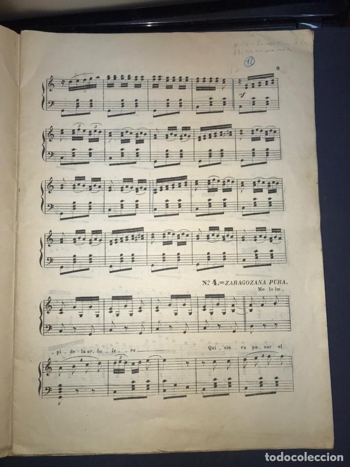 Catálogos de Música: Recopilación Lapuente-Sola. Cancionero de Alvira.. JOTA ARAGONESA. - Foto 7 - 194501966