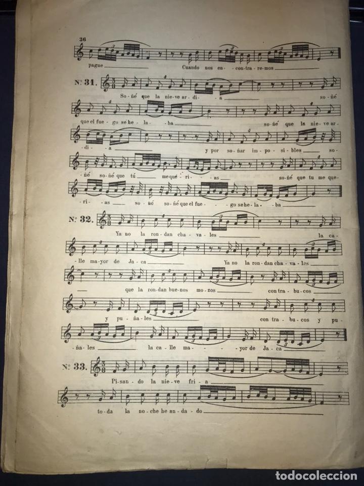 Catálogos de Música: Recopilación Lapuente-Sola. Cancionero de Alvira.. JOTA ARAGONESA. - Foto 13 - 194501966