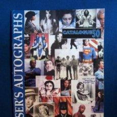 Catálogos de Música: BEATLES CATALOGO DE AUTOGRAFOS CASA FRASERS LONDON VARIOS ARTISTAS. Lote 194665765