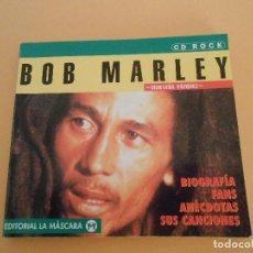 Catálogos de Música: BOB MARLEY - MONTAÑA VAZQUEZ - EDITORIAL LA MÁSCARA, 1998. Lote 194966108