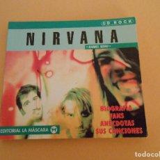 Catálogos de Música: NIRVANA - DANIEL GRAU - EDITORIAL LA MÁSCARA - 1998. Lote 194966772