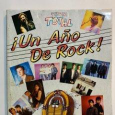 Catálogos de Música: LIBRO UN AÑO DE ROCK FIESTA TOTAL 1988. Lote 195039396