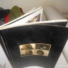 Catálogos de Música: BEATLES GET BACK 1969 MULTITUD FOTOS, DIALOGOS..FILM GANADOR OSCAR LET IT BE, APPLE PUBL.. Lote 195040176