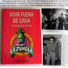 Catálogos de Música: VIVIR FUERA DE CASA LA JUNGLA POR DENTRO LIBRO CASOLIVA PROGRAMA DE RADIO VIAJE MÚSICA ANÉCDOTAS ETC. Lote 195065386