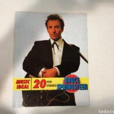 Catálogos de Música: BRUCE SPRINGSTEEN 20 FOTOS EXTRAIBLES. Lote 195067867