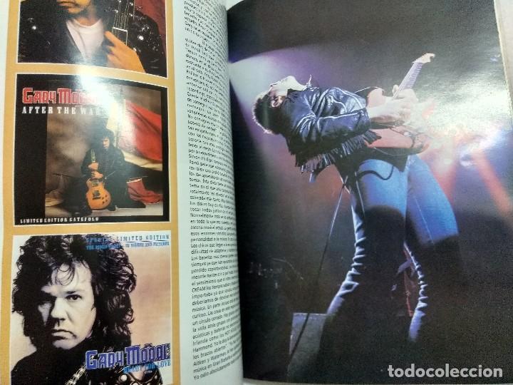 Catálogos de Música: GARY MOORE/COLECCION IMAGENES DE ROCK Nº32 LA MASCARA. - Foto 2 - 195116403