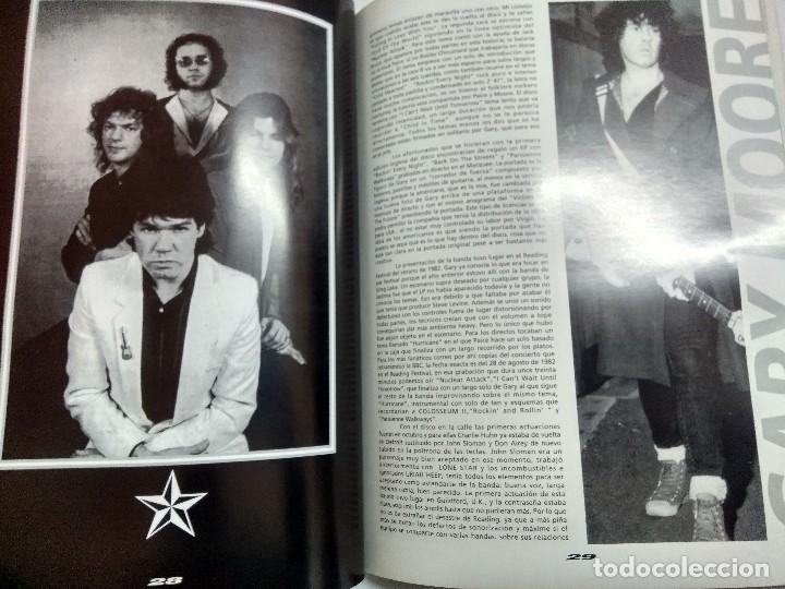 Catálogos de Música: GARY MOORE/COLECCION IMAGENES DE ROCK Nº32 LA MASCARA. - Foto 4 - 195116403