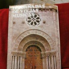 Catálogos de Música: SEGUNDA JORNADAS DE VIEJAS MÚSICAS ZAMORA 22.28 OCTUBRE 1973. Lote 195146220