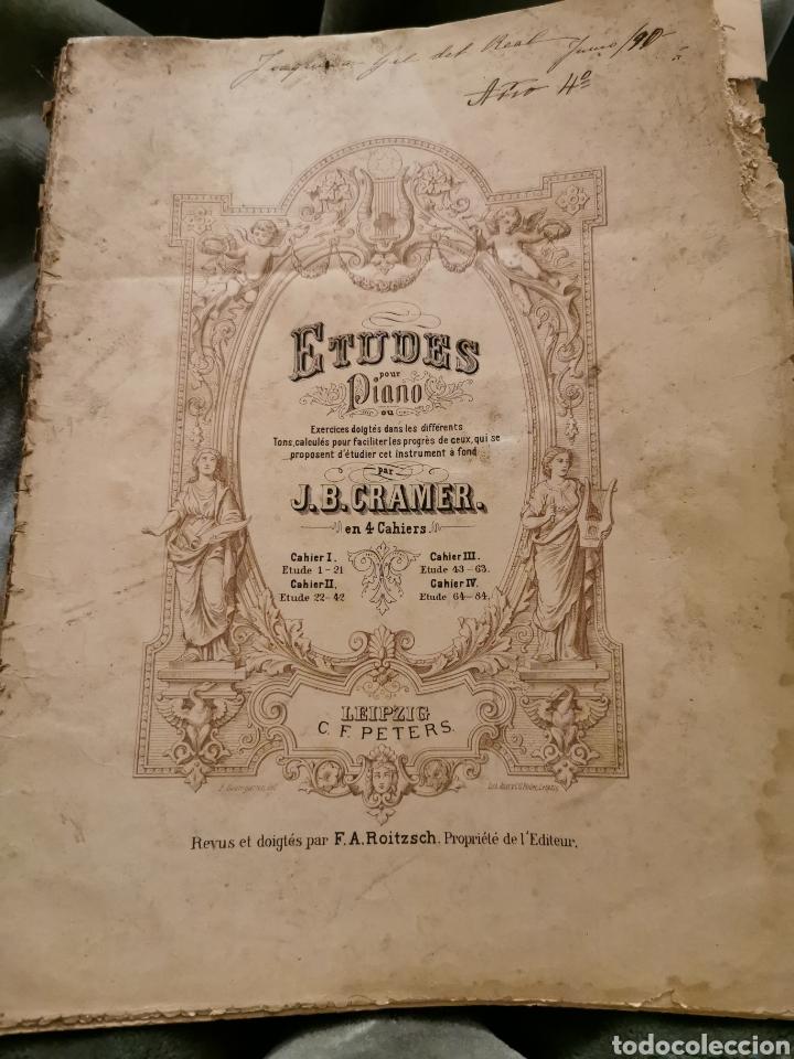 LIBRO DE PIANO ANTIGUO 1 EDICIÓN COMPLETO (Música - Catálogos de Música, Libros y Cancioneros)