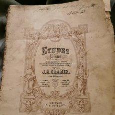 Catálogos de Música: LIBRO DE PIANO ANTIGUO 1 EDICIÓN COMPLETO. Lote 195153961