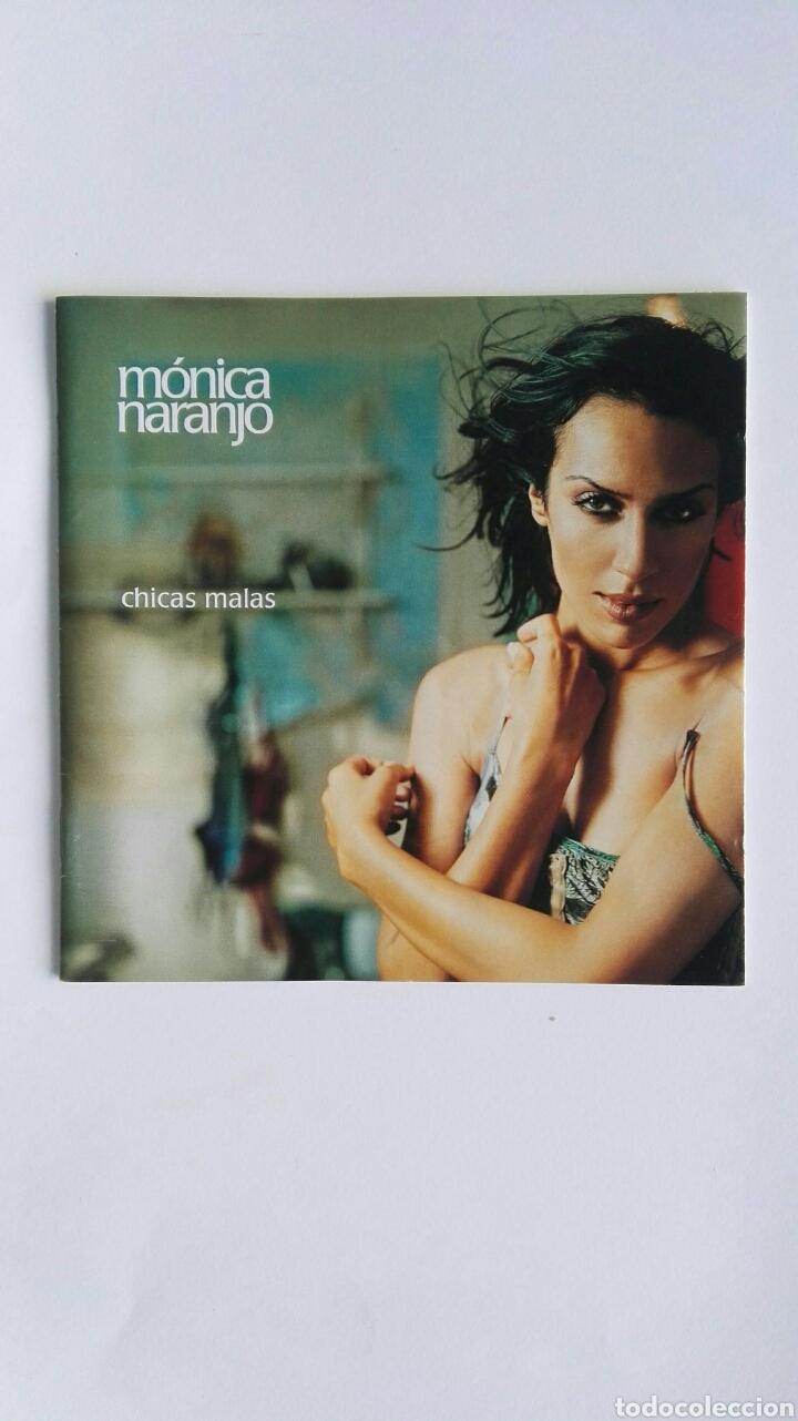 MÓNICA NARANJO CHICAS MALAS SOLO LIBRITO (Música - Catálogos de Música, Libros y Cancioneros)